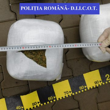 Mihai și Lenuț, cei doi prinși cu 17 kg de droguri, rămân după gratii până după Mărțișor!