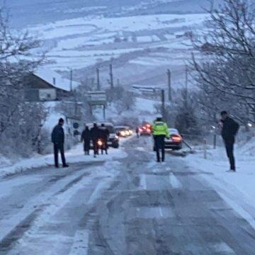Drumarii, amendați pentru haosul de ieri de pe șosele