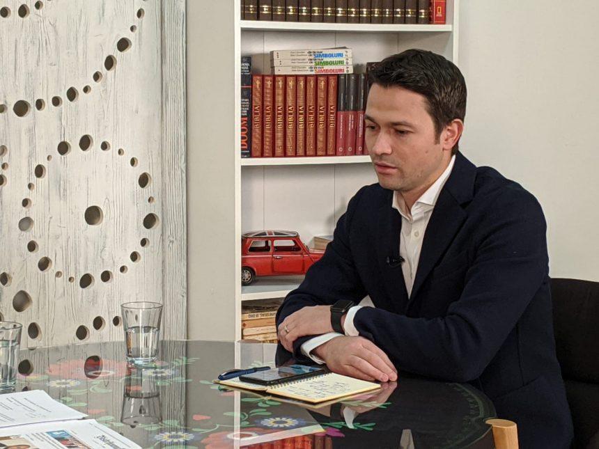 Candidatura deputatului Robert Sighiartău la Primăria Bistrița, incertă. Numele candidatului, făcut public de Mărțișor