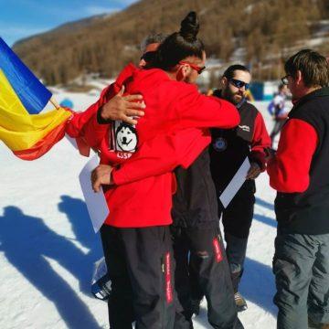 FOTO. Tată și fiu din Bistrița, campioni europeni în Italia! În ce măsură au fost afectați de coronavirus