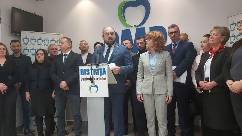 Deputatul PMP Ionuț Simionca și-a anunțat candidatura pentru primăria Bistrița