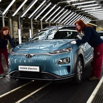 Hyundai va extinde producția Kona Electric în Europa
