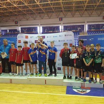 CAMPIONII: Echipa de băieți a LPS Bistrița este noua campioană națională la tenis de masă!