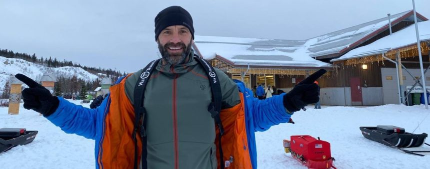 VIDEO: Tibi Ușeriu, pe primul loc în maratonul Yukon Arctic Ultra 2020!