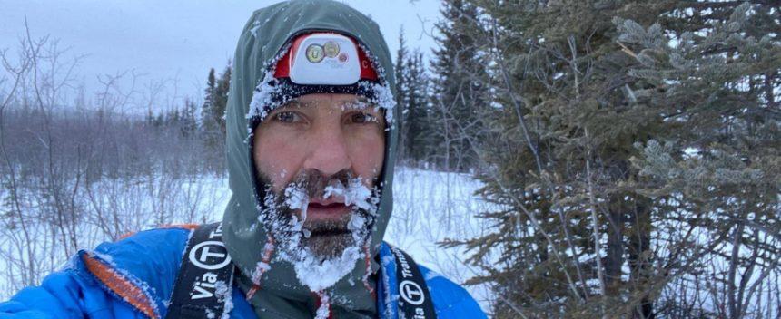 Tibi a încheiat cu bine maratonul Yukon Arctic Ultra! Elvețianul a trecut deja linia de finish!