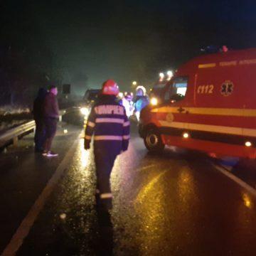 FOTO: Pieton resuscitat la Beclean, după ce a fost lovit de mașină!