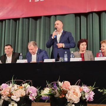 FOTO PSD este primul partid care are un candidat oficial la Primăria Bistrița: Cristian Niculae