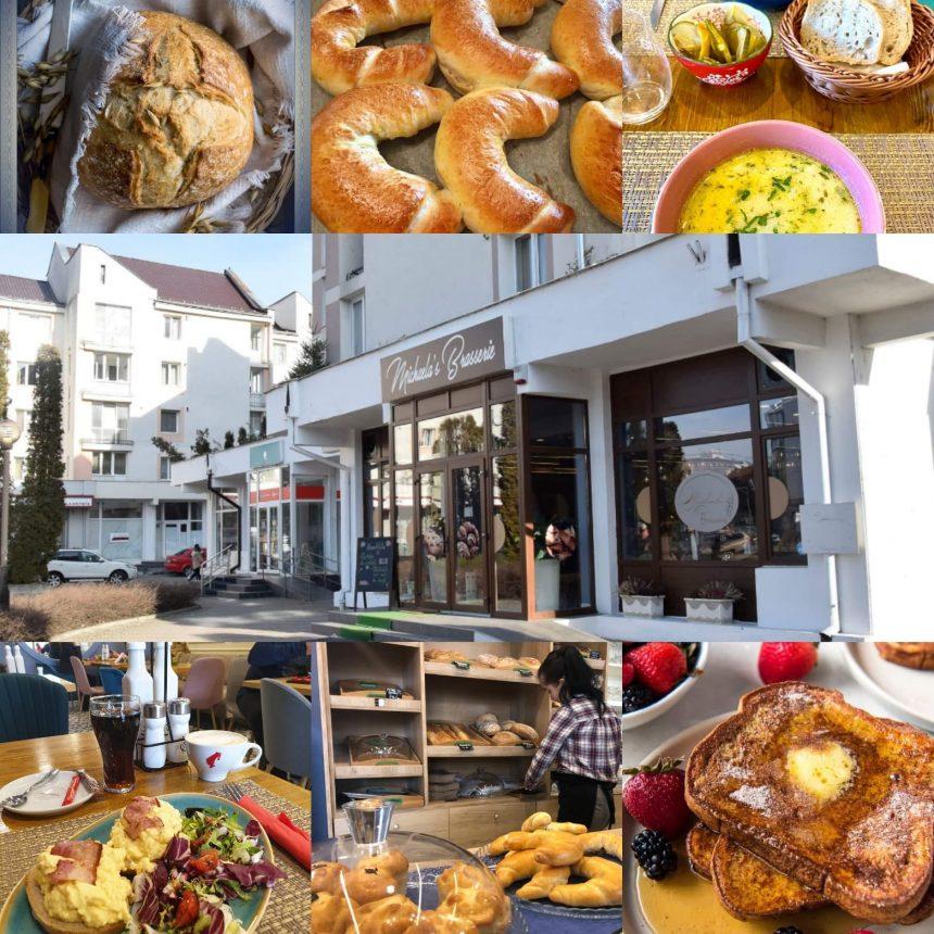 Pâine artizanală, făcută cu maia și mult drag, din făină de secară și cu semințe, numai la Michaela's Braserie