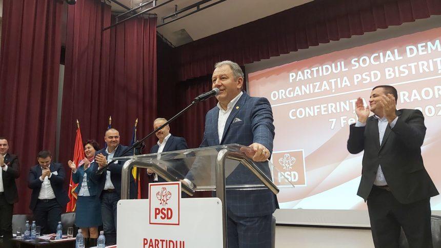Radu Moldovan a fost desemnat oficial candidatul PSD Bistrița-Năsăud la șefia Consiliului Județean