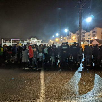 FOTO/VIDEO: Revoluția continuă în Heidenfeld! Sute de bistrițeni au ieșit în stradă