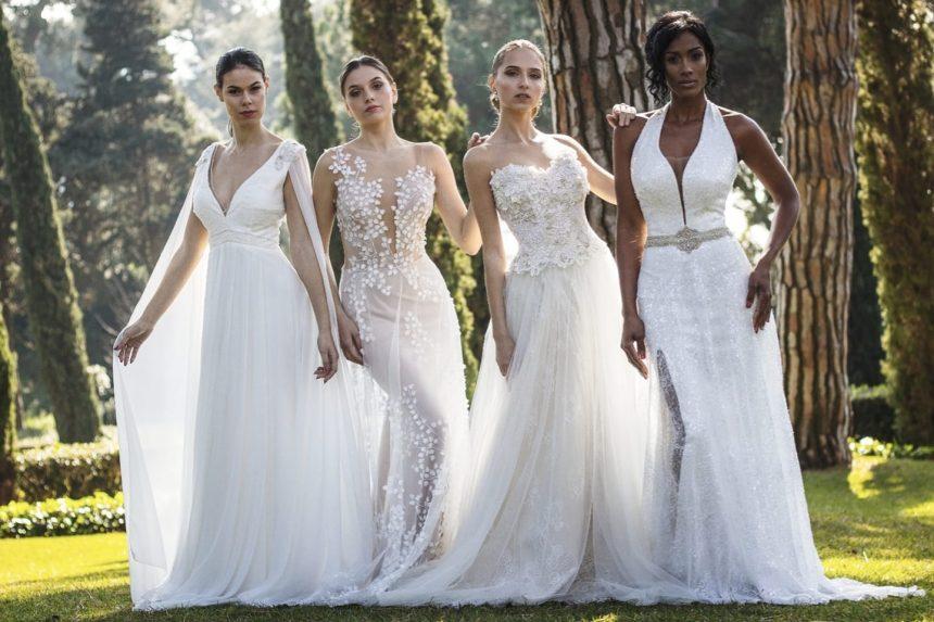 INEDIT – Tina Olari surprinde din nou: Spectaculoase rochii de mireasă 2 în 1, în colecția 2020!