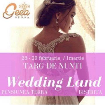 NU UITAȚI! Mâine începe Târgul de Nunți Wedding Land! TOT ce aveți nevoie pentru marea voastră zi, într-un singur loc!