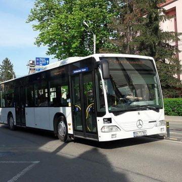 Autobuzele Transmixt, folosite pentru a-i duce pe bistrițenii ce revin acasă – în izolare la domiciliu