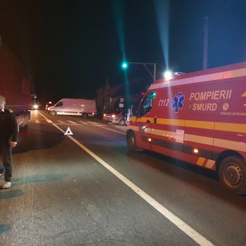Copila accidentată ieri în Viișoara, transferată la Cluj!