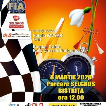 Cupa Doamnelor – Raliul Mărțișorului, pe 8 Martie, la Bistrița!