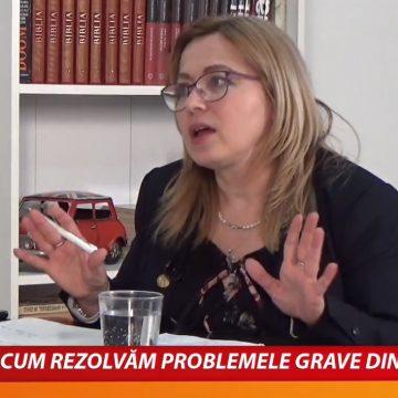 """VIDEO:  Deputatul USR Cristina Iurișniți vrea să fie președinte al Consiliului Județean. """"Este o candidatură atipică pe care mi-o asum"""""""