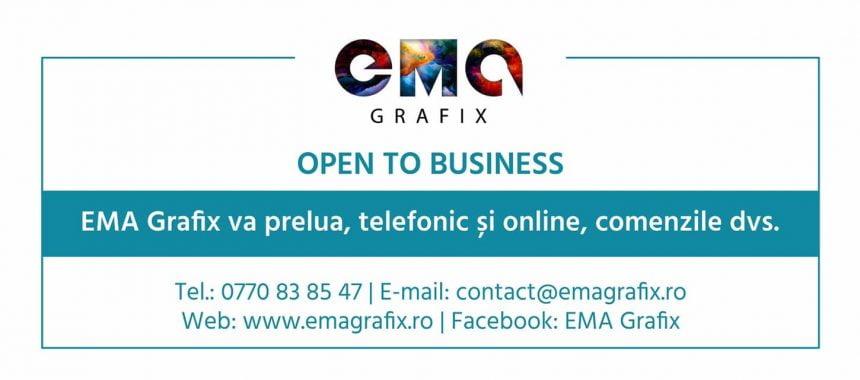 EMA Grafix: Afacerea ta poate căpăta o nouă dimensiune!