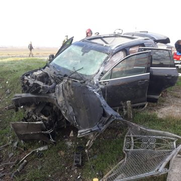 FOTO: Accident mortal la Uriu!