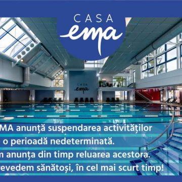 Casa EMA: Facem baie doar acasă! Să ne întâlnim curând!