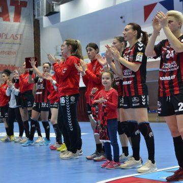Gloria 2018 părăsește Cupa EHF învinsă și în returul Herning Ikast: 28-26. Mulțumim pentru tot!