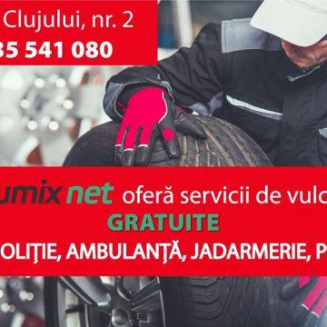 GumixNet: Montaj și echilibrare roți, GRATUIT, pentru mașinile autorităților și salvatorilor!