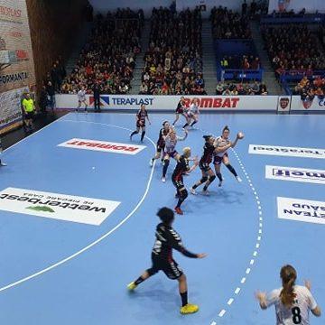 Cupa EHF: Gloria 2018 pierde partida din prima manșă cu 26-29. Dacă s-ar juca doar o repriză…