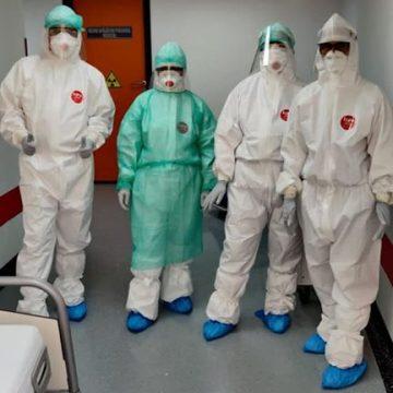 BRAVO: Prima operație în Blocul Operator COVID-19 la Spitalul Județean de Urgență Bistrița