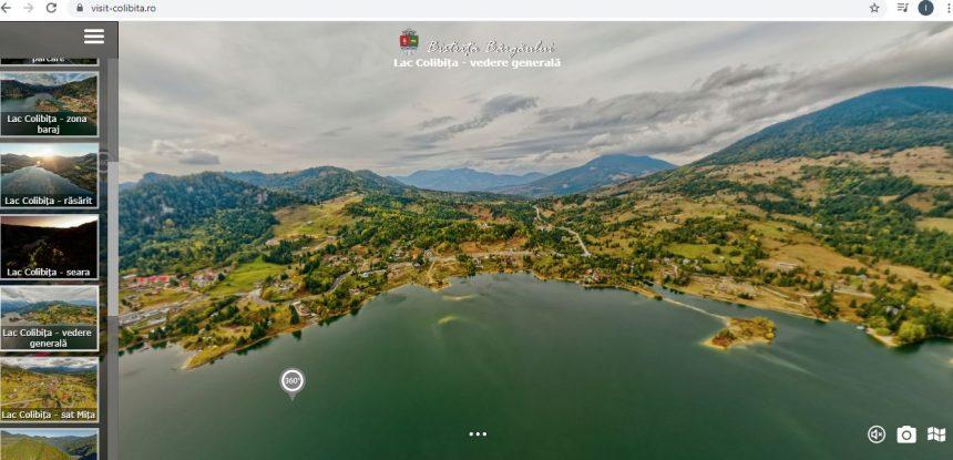 Colibița văzută în detaliu de sus, într-un tur virtual aerian 360°!