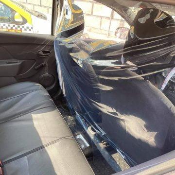 Taxiurile, dotate cu perdea etanș, pentru călătorii urgente, în siguranță!