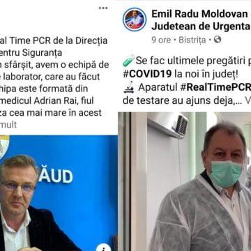RĂZBOI la Palat pe testarea COVID și medici de laborator! Președintele Radu Moldovan vs. prefectul Stelian Dolha