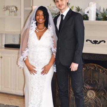 """Unul dintre cei mai tineri cetățeni de onoare ai județului s-a căsătorit în SUA: """"În ciuda pandemiei, suntem căsătoriți!"""""""