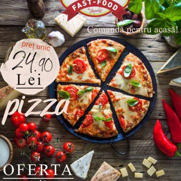 EXTRA: Noutăți, în meniul Fastfood Numa' Bun! Ofertă specială la pizza!