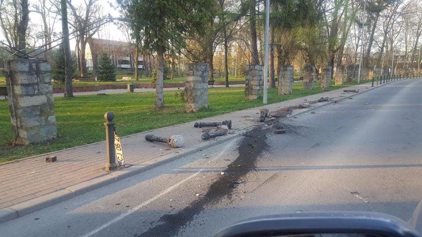 FOTO: CE s-a întâmplat în Parcul Municipal??
