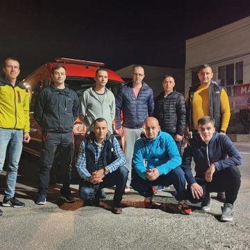 SOLIDARITATE! 9 paramedici SMURD din Bistrița-Năsăud, în ajutorul colegilor din cel mai afectat județ de pandemia de Coronavirus