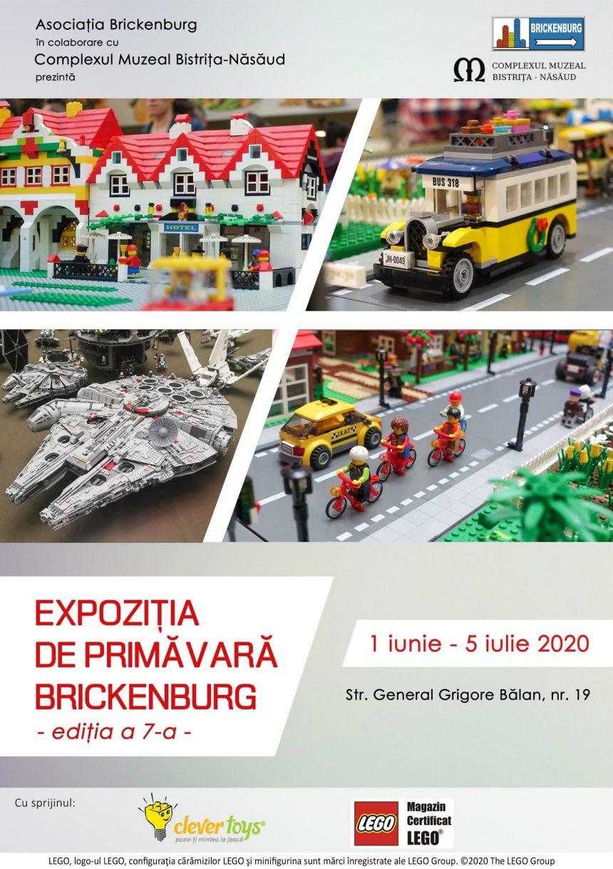 Din 1 iunie, la Muzeul Județean revine fascinanta lume LEGO