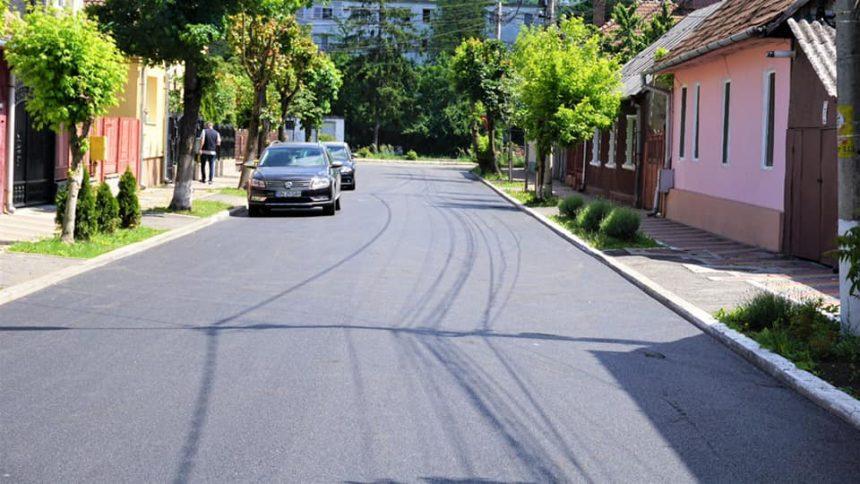 BISTRIȚA: Asfalt nou pe străzile Horea, Cloșca, Crișan și Păcii