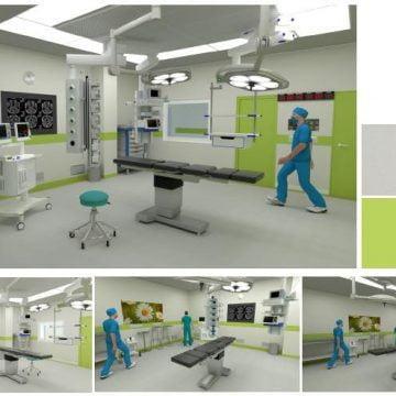 Încă patru noi săli de operație și o secție de cardiologie intervențională, la spital