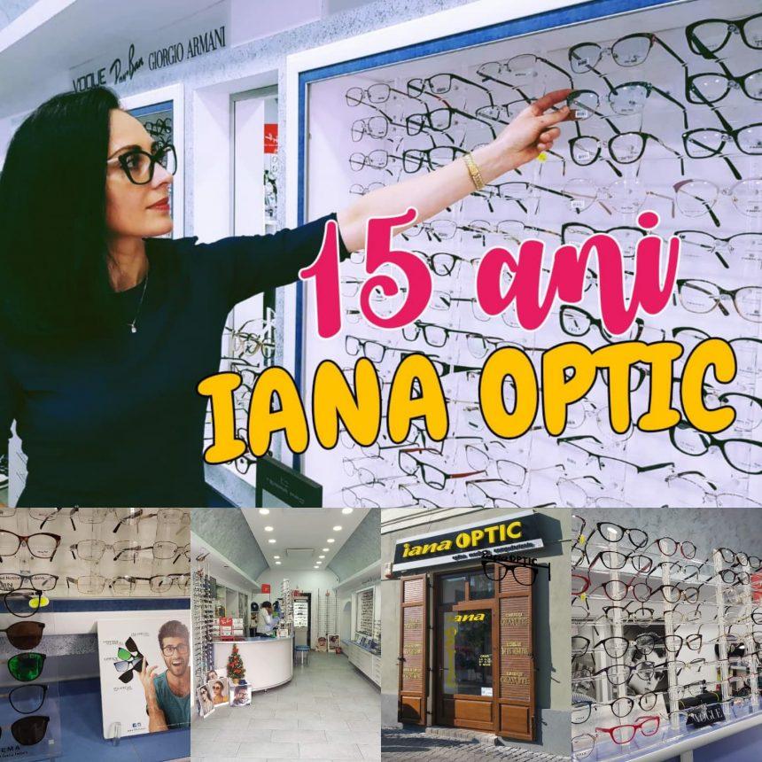 IANA OPTIC: Vă mulțumim pentru cei 15 ani de prietenii legate în jurul ochelarilor