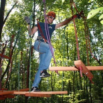 VIDEO: Un parc de aventură de 5 hectare, în curând, în Bistrița-Năsăud