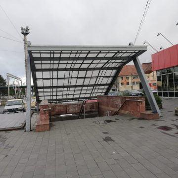 FOTO- GREȚOS: Pasajul subteran de la gară, buda publică a orașului?!?