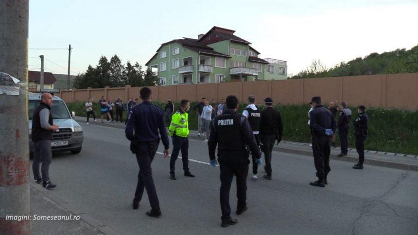 VIDEO: Unul din jefuitorii afaceriștilor din Dumitra, implicat într-o șicanare în trafic, urmată de accident și scandal