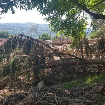 RODNA: Când vor fi gata de asfaltat drumurile distruse de inundații