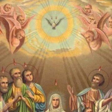Duminica de Rusalii: Cu Duh Sfânt plutind sub forma unor limbi de foc peste noi…