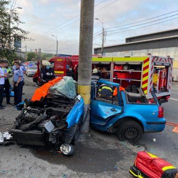 Șoferul implicat în accidentul din Cluj are nevoie de sânge!