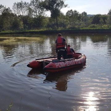 FOTO: Un bunic a murit înecat în lac în Posmuș