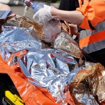Familia fetiței arse, de la Braniștea, din nou în vizorul Protecției Copilului. Le-au mai luat trei micuți