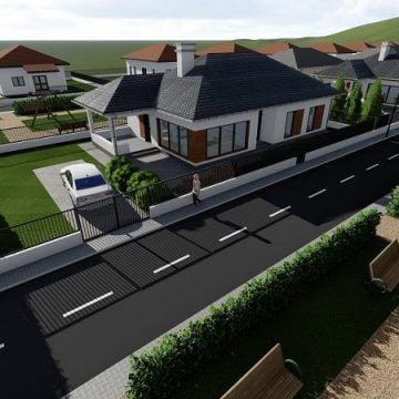 FOTO/VIDEO: Atmosfera perfectă pentru liniștea familiei tale! În noul complex rezidențial cu 18 case, care se ridică în Unirea!