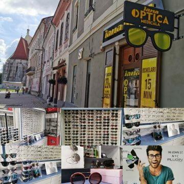 Lentile de soare cu dioptrii CADOU la ramele de ochelari cumpărate și 20 % REDUCERE la ochelarii de soare