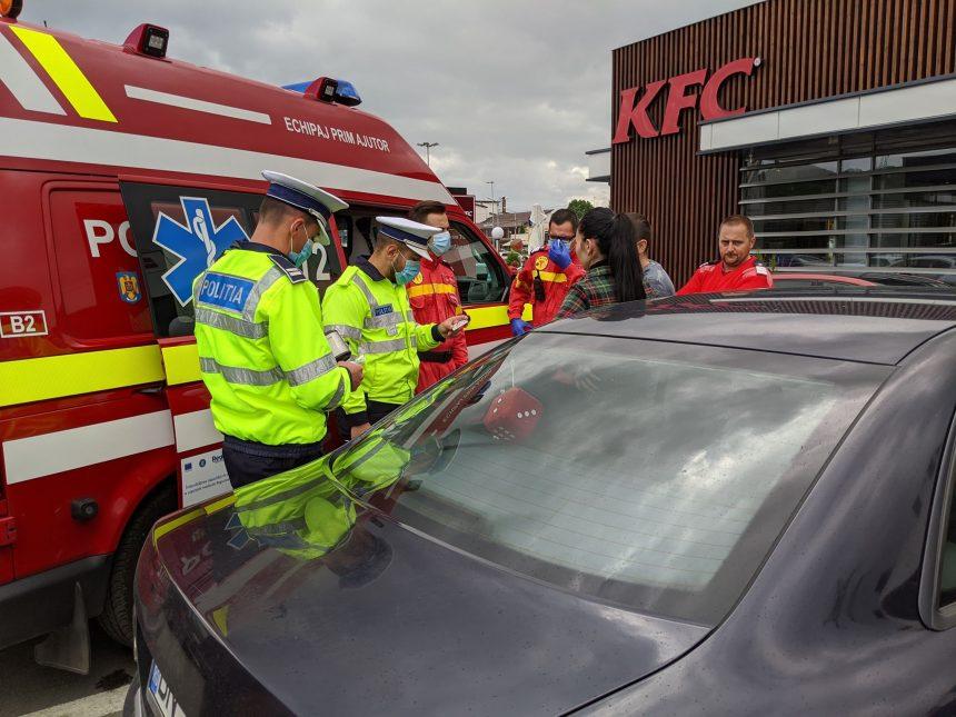Bătăușul de la KFC, reținut! Azi instanța va decide luarea unei măsuri preventive: