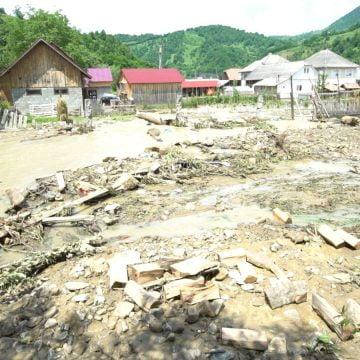 Aproape 25 de milioane de lei pentru pagubele produse de inundații în județul Bistrița-Năsăud!
